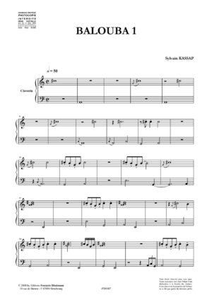 Clavecin, cycle 1 –  Various composers