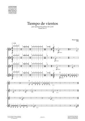 Tiempo de vientos – Bruno Giner