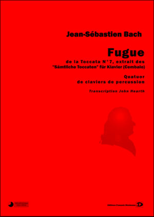 Fugue from Toccata N° 7 – Johan-Sebastian Bach