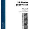 24 studies for violin vol 1