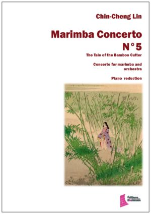 Marimba concerto Nr 5 by Chin Cheng Lin. Piano reduction