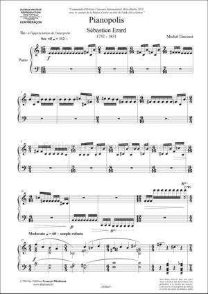 Pianopolis : Sebastien Erard – Michel Decoust