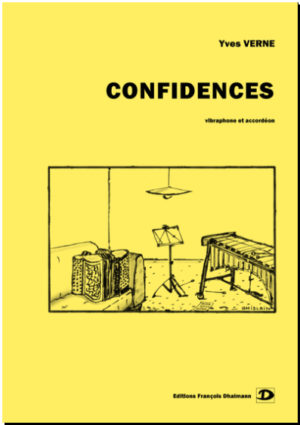 Confidences for vibraphone and accordion – Yves Verne