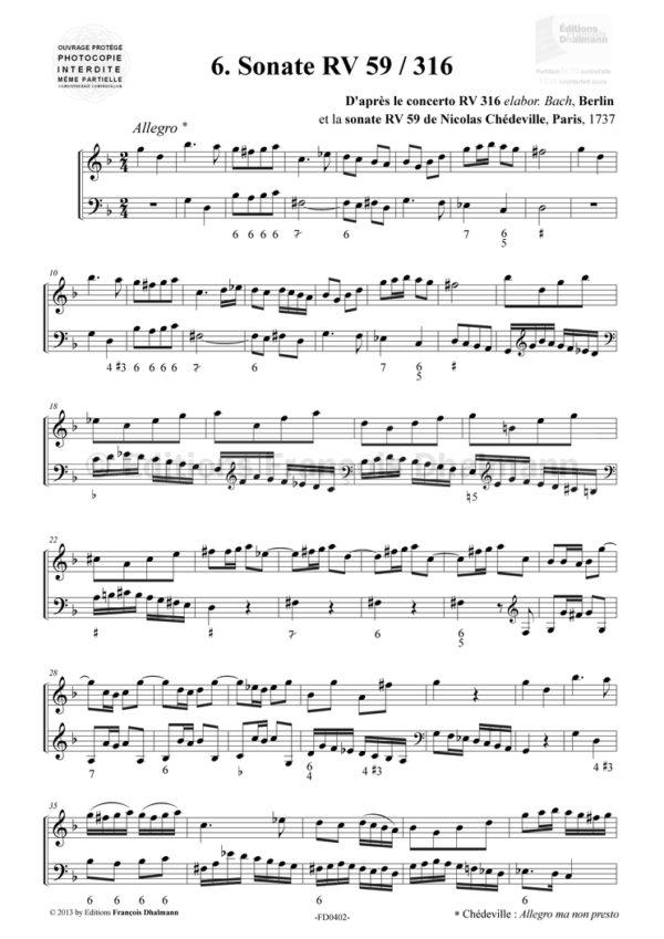 Six Sonatas Vivaldi