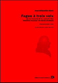 Fugue à trois voix, de la Toccata N° 2 – Jean-Sébastien Bach