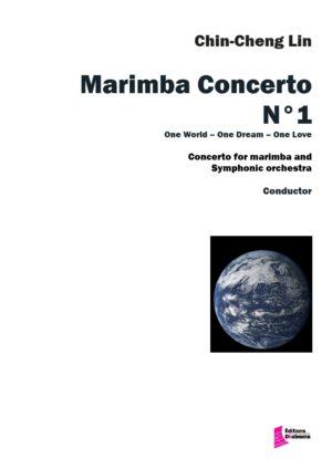Marimba Concerto Nr 1 – Symphonic orchestra – Chin-Cheng Lin