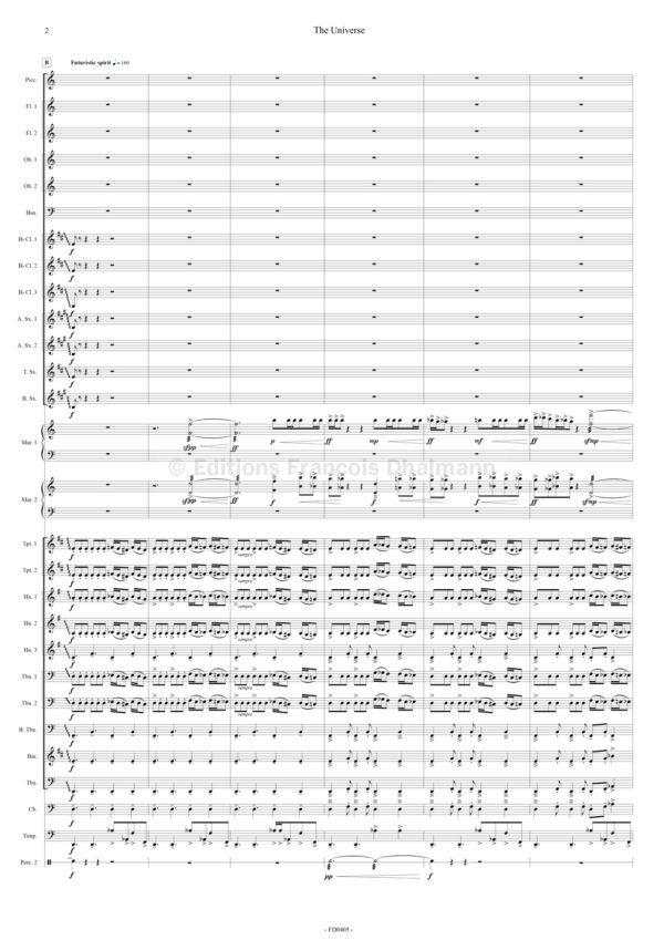 The Universe - Wind orchestra - Ludwig Albert