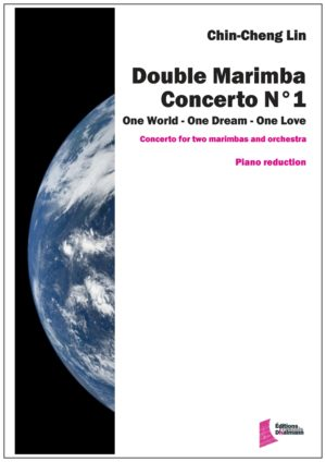 Double concerto N° 1 for marimbas. Piano reduction – Chin-Cheng Lin