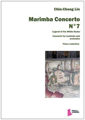 Marimba concerto Nr 7 – Chin Cheng Lin. Piano reduction